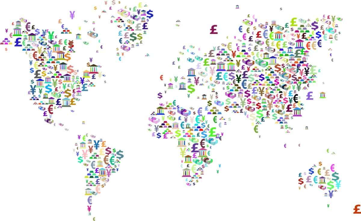 Alle landen met dollars